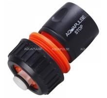 АР 1005 Коннектор для шланга 3/4 с аквастопом